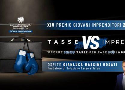 FARE IMPRESA E PAGARE MENO TASSE! Gianluca Massini Rosati spiega come fare in un convegno, il 30 Novembre a Pisa.